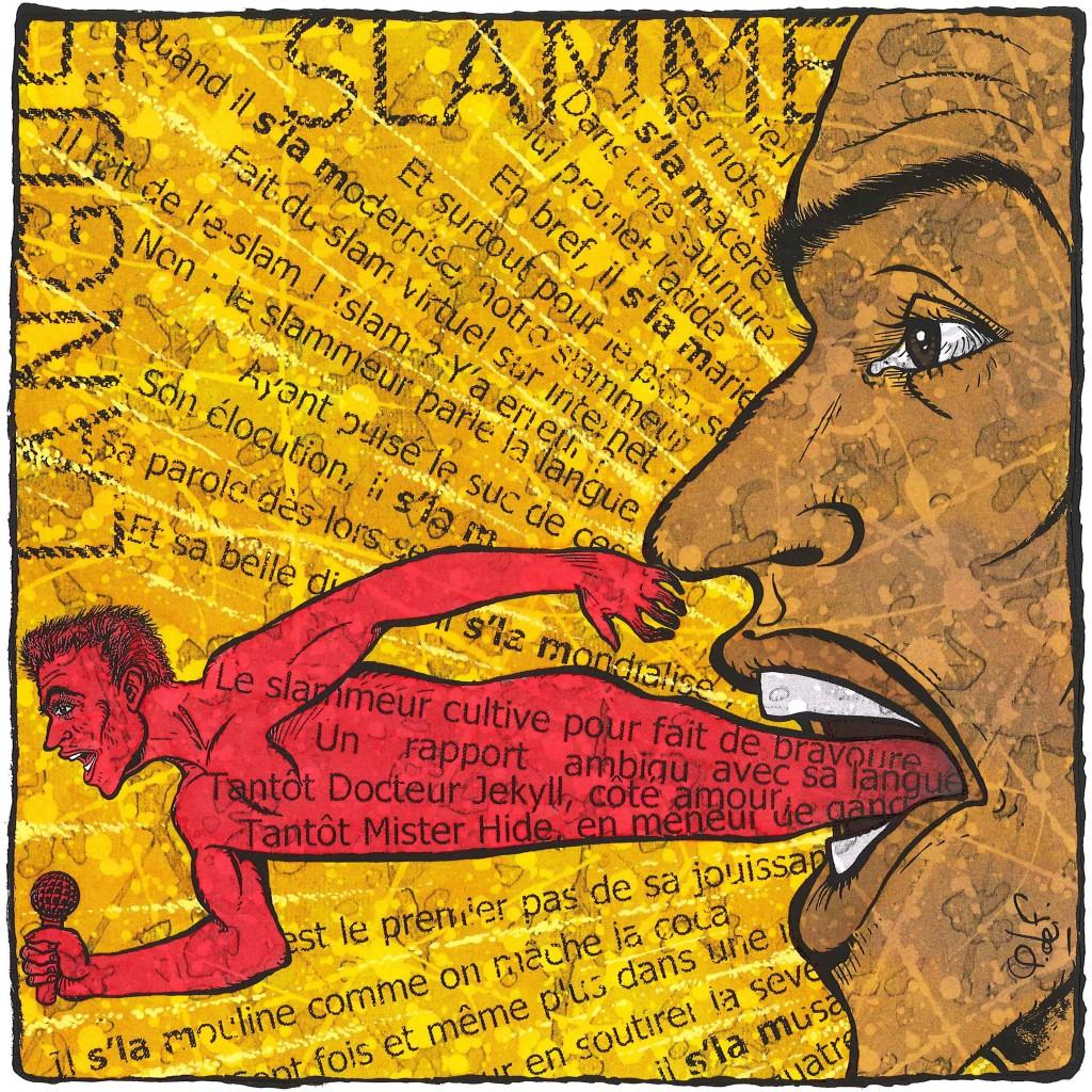 Le Slammeur et sa langue
