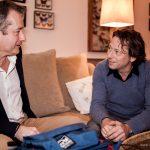 Avec Mathieu Amalric