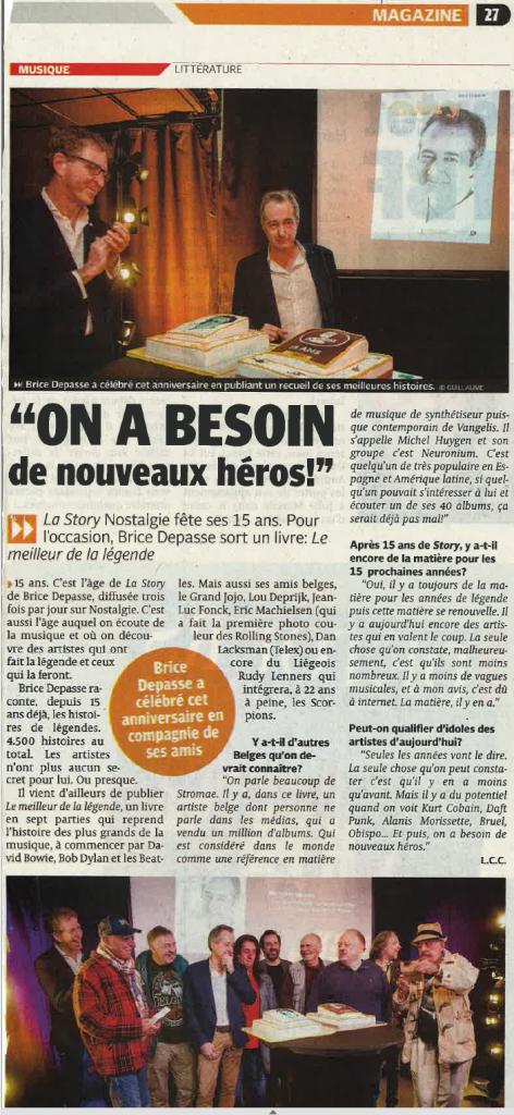 2016118 La Dernière Heure La Story