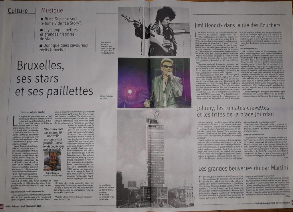 Libre Belgique, Valentin Dauchot,  La Story, tome 2, Brice Depasse, décembre 2020