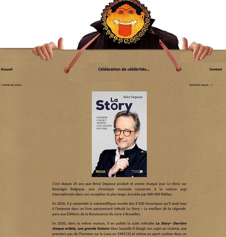 Satiricon, Bernard Delcord,  La Story, tome 2, Brice Depasse, janvier 2021