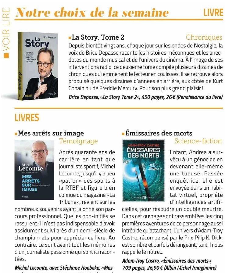 Télé Pro,  La Story, tome 2, Brice Depasse, février 2021