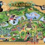Plan parc Paradisio