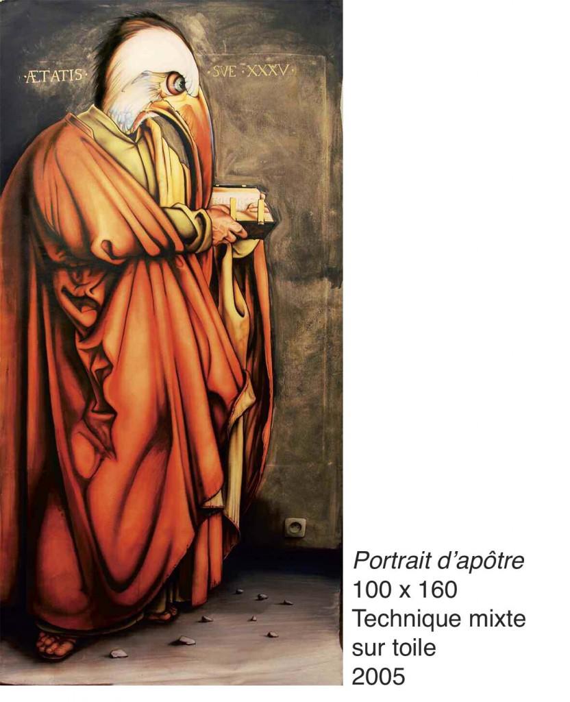Portrait d'apôtre