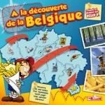 """Couverture """"A la découverte de la Belgique"""""""