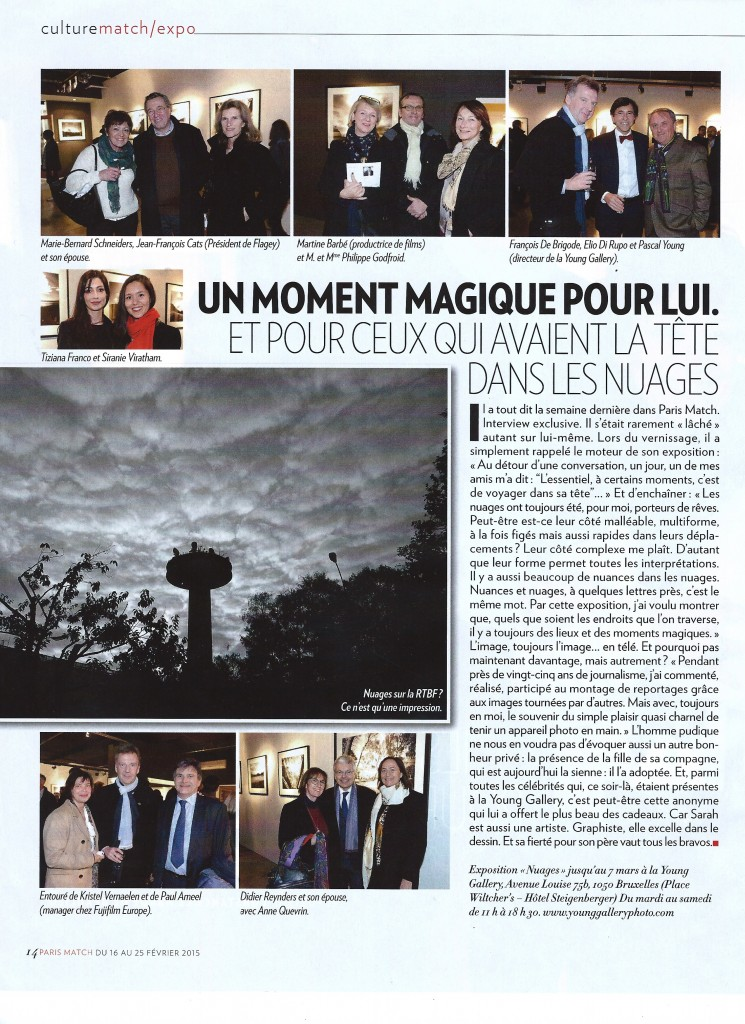 Paris Match 16/2/2015