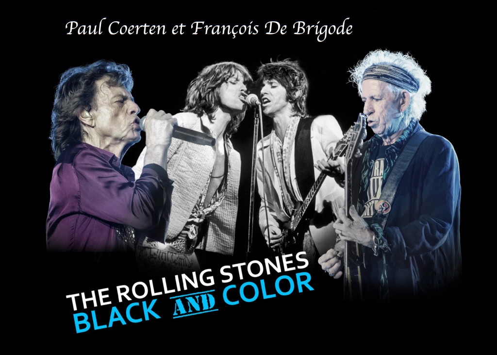 Black and Color Rolling Stones - Paul Corten et François De Brigode