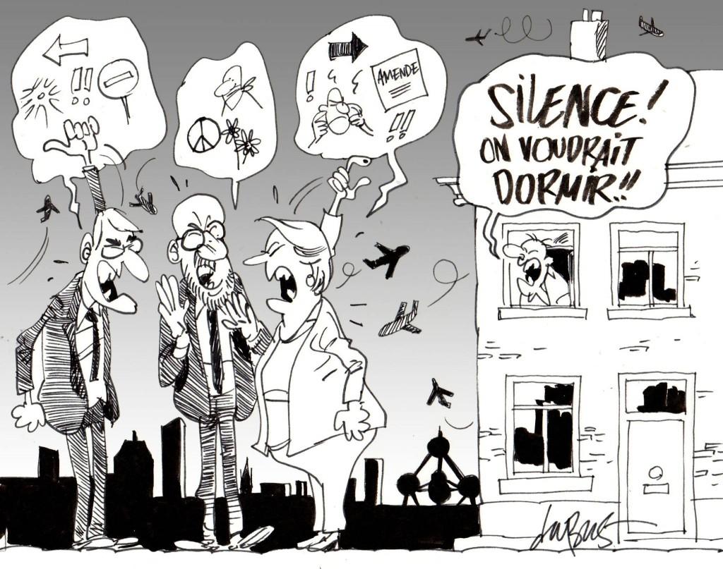 A Zaventem, les terroristes seront désormais priés de se faire exploser en silence, sous peine d'amende.