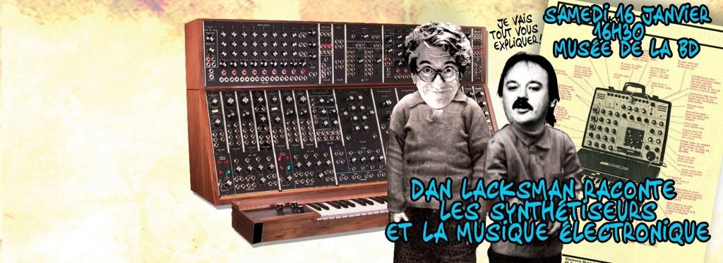 Les Synthétiseurs : une causerie avec Dan Lacksman