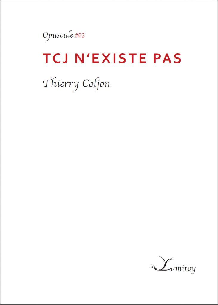 opuscule thierry coljon