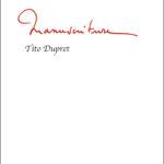 Tito Dupret Manuscriture bord noir
