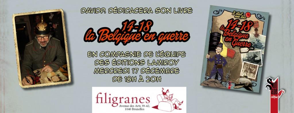 Dedicace Filigranes et Lamiroy__Belgique_14-18