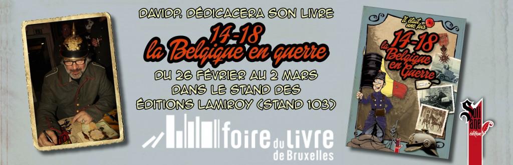 Dedicace Foir du livre__Belgique_14-18