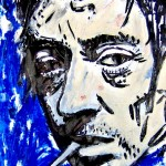 Gainsbourg's face by yb 2008