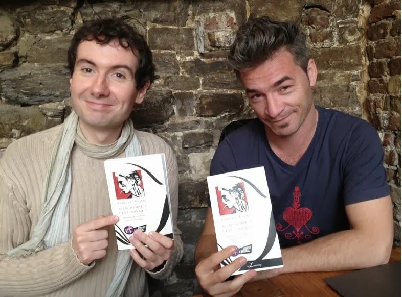 Laurent Rieppi et Yves Budin - photo Eric Lamiroy