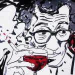 Woody Allen & Red Wine