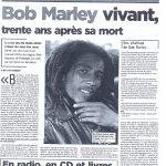 BOB MARLEY L'AVENIR 2011