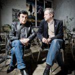 Une belle amitié avec Dick Rivers PHOTO : Bruno DALIMONTE