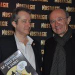 Avec Philippe Geluck, 2015