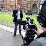 Avec Cooky Cue devant le Royal Albert Hall, Londres
