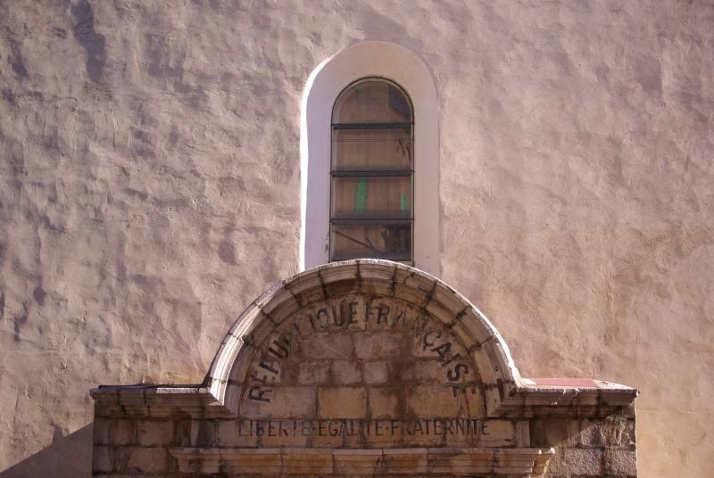 Fronton d'église
