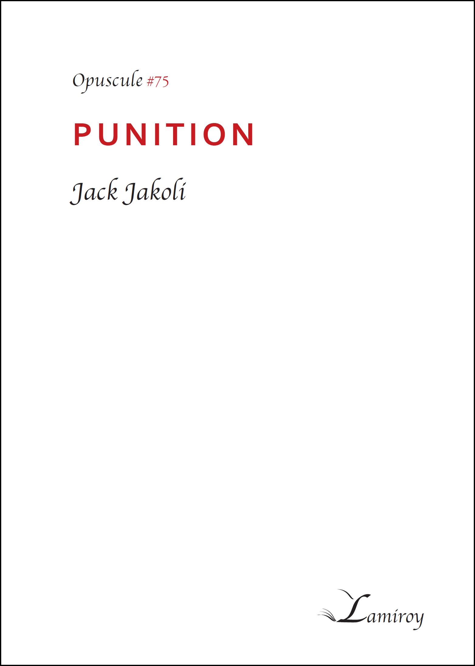 Jack Jakoli Punition HD bord noir